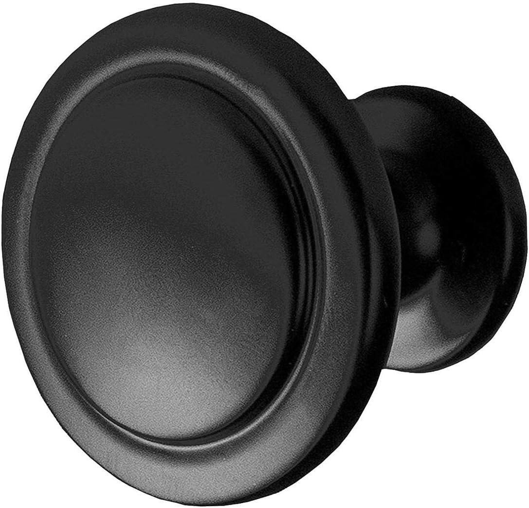 tiradores de puerta pomos de aleaci/ón para gabinetes 32 mm de di/ámetro Beuya 16 tiradores de cajones para muebles