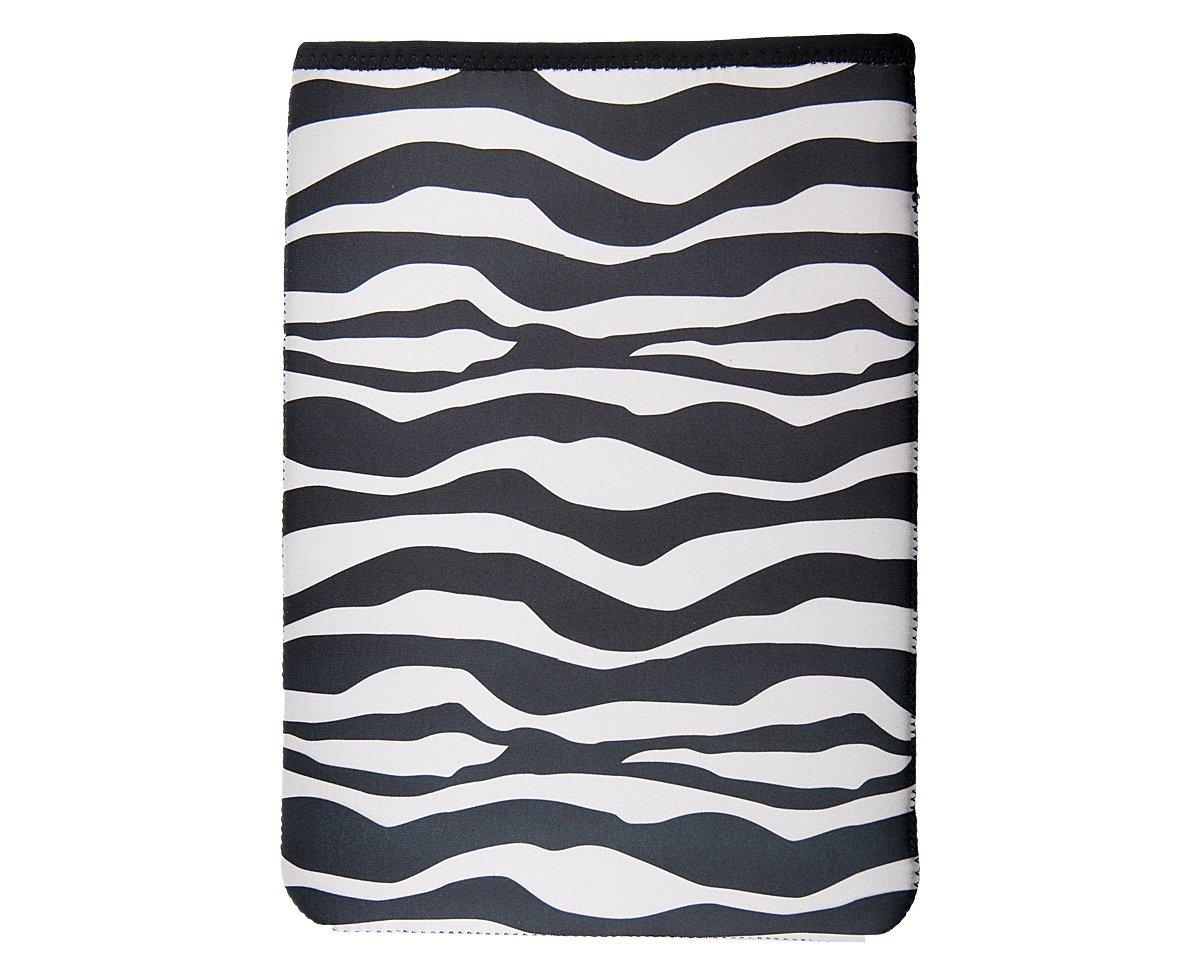 OP/TECH USA 4642841 Smart Sleeve 841, Neoprene Sleeve for Netbooks (8.4 x 11.5), Zebra