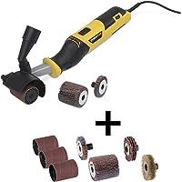 Powerplus Schleifroller Elektroschleifer 300 Watt + 7 teiliges Zubehör Set
