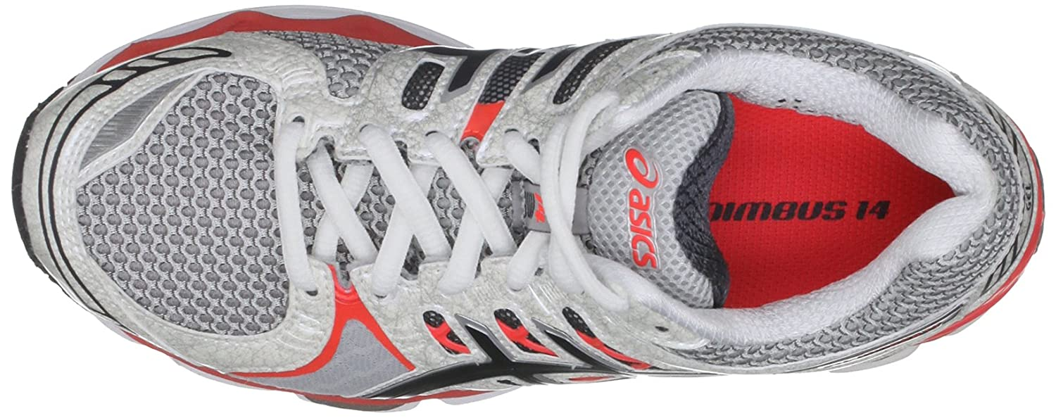 asics ladies gel nimbus 14 running shoes t291n 9399