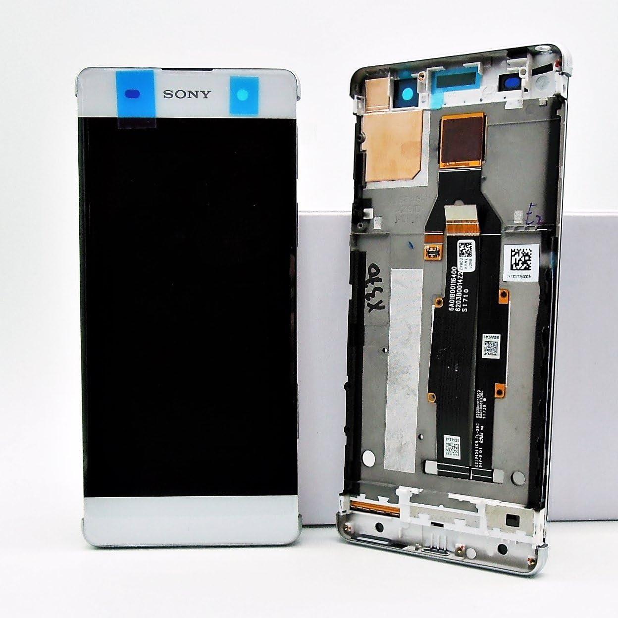 Original Sony Xperia XA f3111 pantalla LCD con Marco Service Pack pantalla táctil digitalizador Color Blanco Incluye janado Pegatinas: Amazon.es: Electrónica