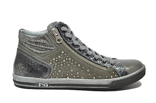 NERO GIARDINI Sneakers scarpe donna grafite 9231 mod. A719231D