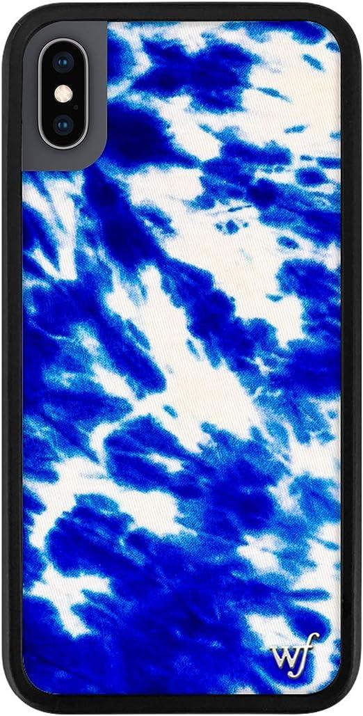 Tie Dye Phone Case Navy Blue Pattern iPhone Case  S10 Plus S10e Case iPhone X Case iPhone XS Case iPhone XR Case iPhone XS Max Case Nf