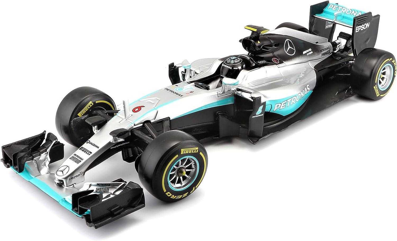 Bburago B18 18001r Diecast 1 18 Scale Model Of The F1 2016 Mercedes Amg Team Car Nico Rosberg Amazon Co Uk Toys Games