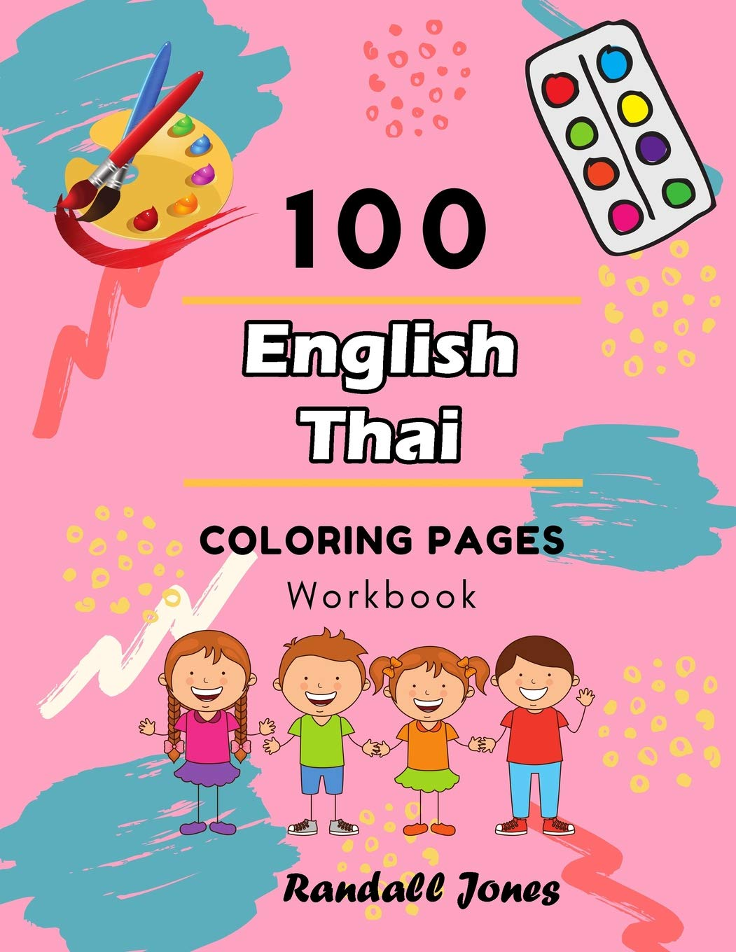 Thai girl coloring page. Colouring page. Thai child kid. Cartoon ... | 1360x1051