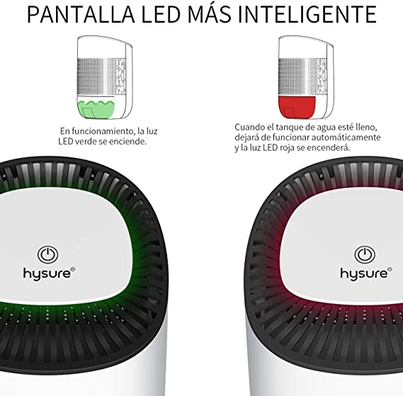 Schmutz und Schimmel in Haus kompakter B/üro oder Keller mit UV-Lampensterilisation Bad tragbarer Lufttrockner gegen Feuchtigkeit 2L Luftentfeuchter