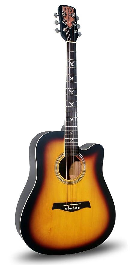 Amazon Com Martin Smith W 700 Sb Acoustic Guitar Sunburst