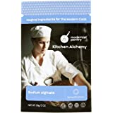 Food Grade Sodium Alginate (Molecular Gastronomy) ⊘ Non-GMO ☮ Vegan ✡ OU Kosher Certified - 50g/2oz