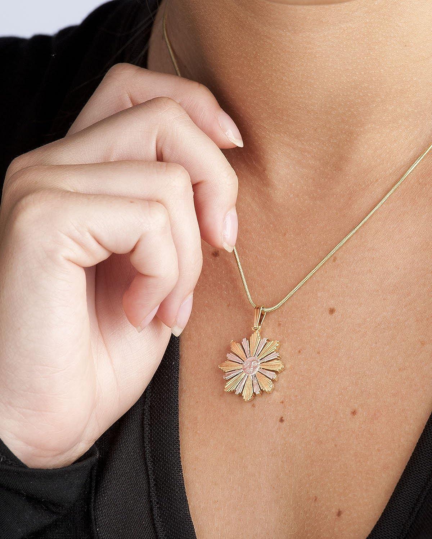 Uruguay 4 Centavos Hand Cut Sun Pendant /& Necklace