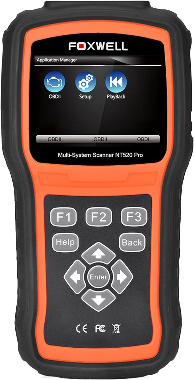 Foxwell NT530 for VOLKSWAGEN Multivan Multi System OBDII Scanner Code Reader