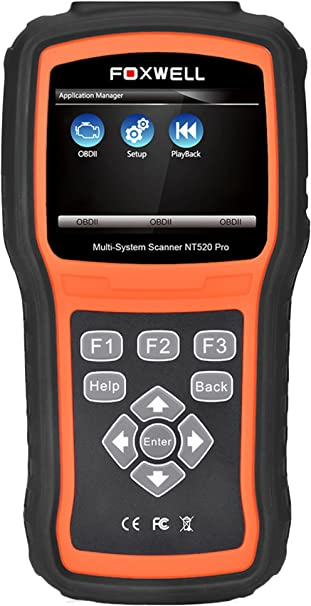 FOXWELL NT510 for LAND ROVER New Range Rover OBD2 DIAGNOSTIC SCANNER CODE AIRBAG
