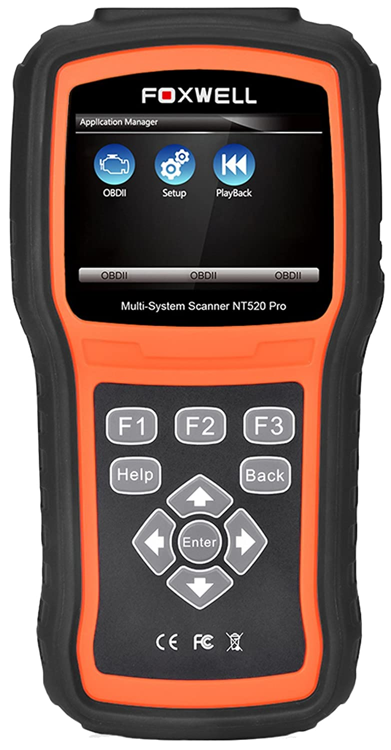 FOXWELL NT520 PRO for BMW 3 SERIES F30 OBD2 Diagnostic Reader Erase Error  Code Scanner Tester SRS ABS DPF EPB Airbag Oil Service