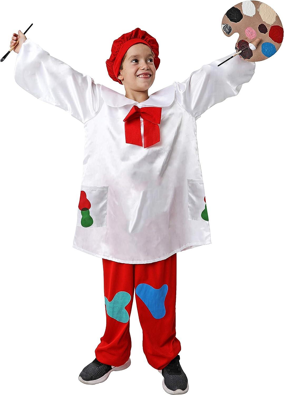 Costumizate! Disfraz de Pintor Talla 7-9 Especial para niños ...
