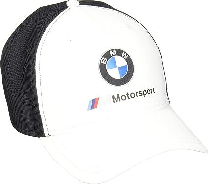PUMA BMW M Motorsport - Gorro de Lana, Color Blanco: Amazon.es ...