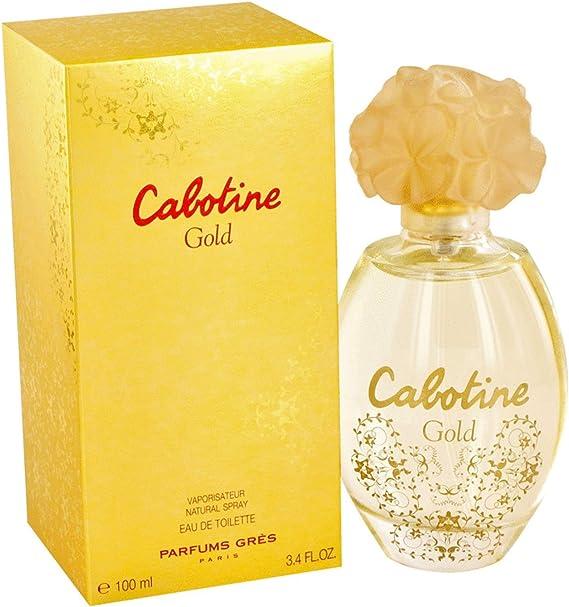 Parfums Gres Cabotine Gold By Parfums Gres For Women Eau De Toilette Spray 3.4 Oz by Parfums Gres
