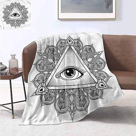 Manta de Viaje con diseño Vintage de Tatuaje Bohemio y occulto ...
