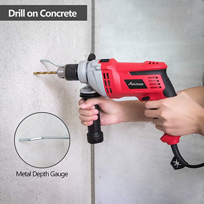 Using Hammer Drill for Concrete Drilling