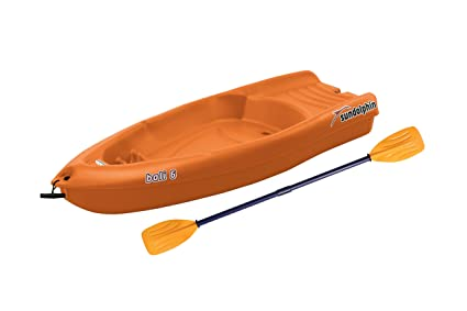 Sun Dolphin Bali Sit-on-top kayak (Tangerine, 6-feet)