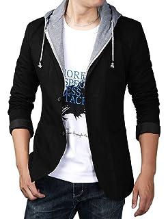 Amazon.com: Itemnew - Chaqueta con capucha desmontable con 2 ...
