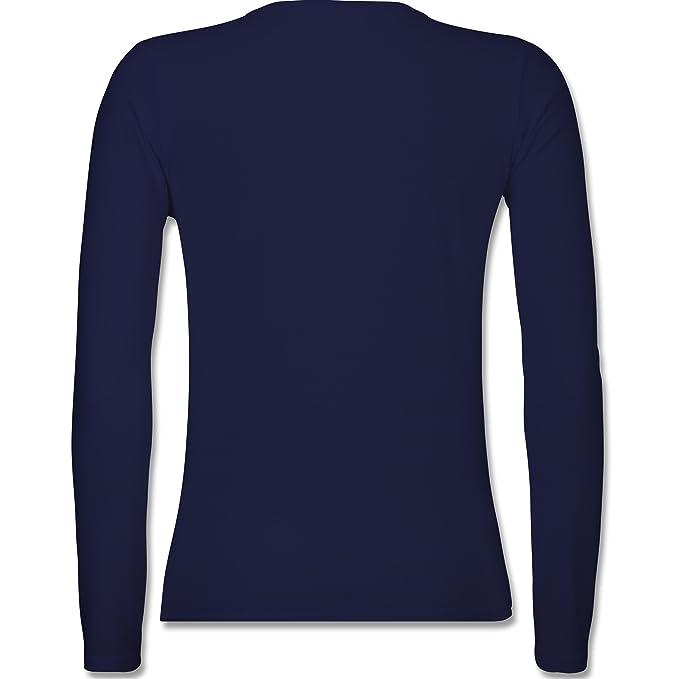 Shirtracer Statement Shirts - Bevor Du Fragst Nein! Rot - Damen Langarmshirt:  Shirtracer: Amazon.de: Bekleidung