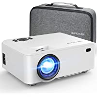 Daiwan RD-820 Full HD 1080p LED Portable Projector with Carrying Case