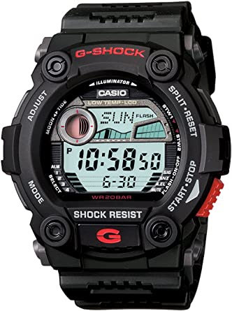 Amazon.com  Casio Men s G7900-1 G-Shock Rescue Digital Sport Black ... 73bc1af71