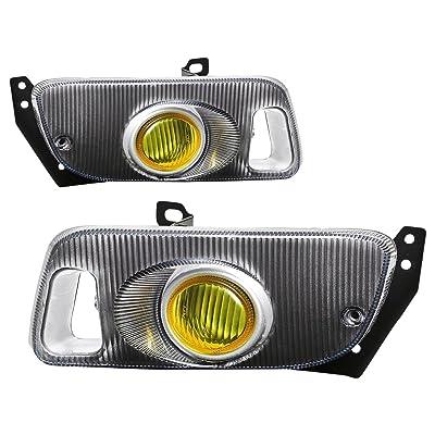 DNA MOTORING FL-HC922-AM Front Bumper Fog Light, Driver and Passenger Side: Automotive