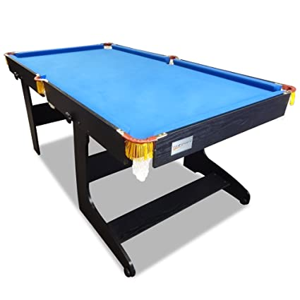 Amazoncom TR Sports Feet Pool Table Timber MDF Foldable - Fold out pool table