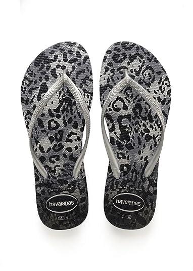 7f40a8c3d Havaianas Flip Flops Women Slim Animals  Amazon.co.uk  Shoes   Bags