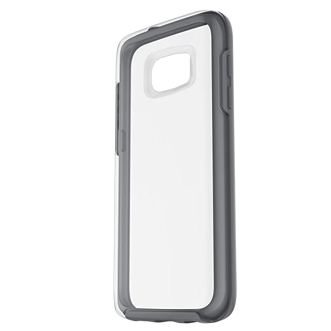 official photos a4354 0c4e5 OtterBox Symmetry Clear Series Case for Samsung Galaxy S7 - Retail  Packaging - Grey Crystal (Clear/Gunmetal Grey)