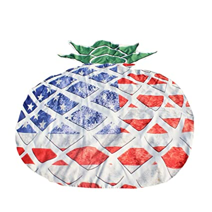 Amazon.com: nicecurtain Creative Pineapple Fruit Design ...