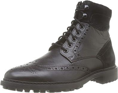 ataque Depender de canal  Geox U BRENSON A, Botas Clasicas Hombre: Amazon.es: Zapatos y complementos