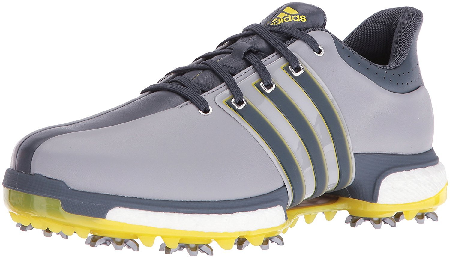 adidas Men's Tour 360 Boost WD Ltonix Golf Shoe, Grey, 8 2E US by adidas