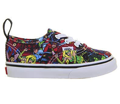 83bf356354 Vans Authentic Elastic Lace (Marvel) (Toddler)