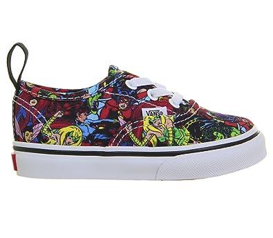 3785c86ee35 Amazon.com | Vans Authentic Elastic Lace (Marvel) (Toddler) | Sneakers