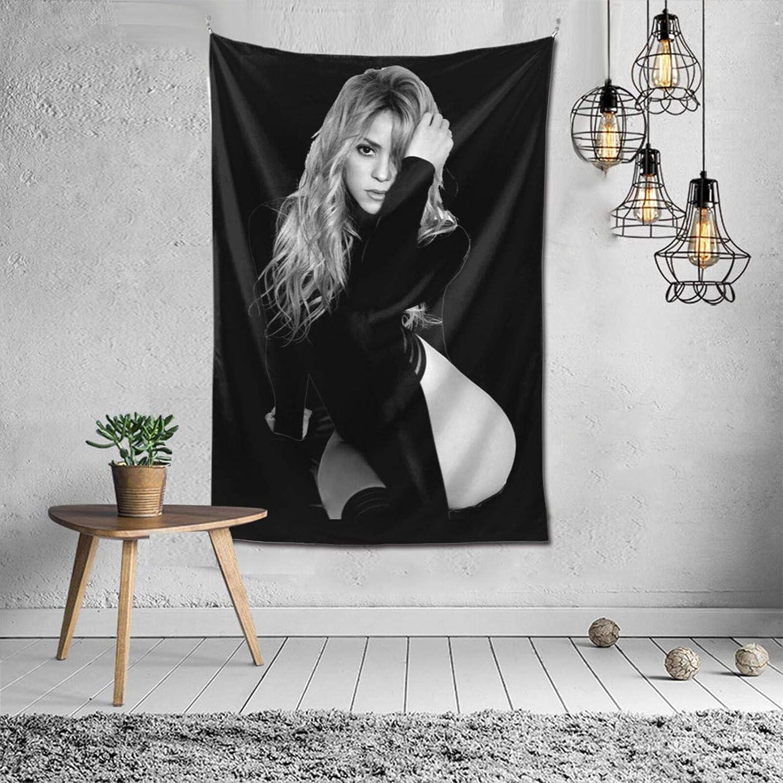 "JWGDCBY Shakira Tapestry Wall Hanging Art Tapestries Decor for Bedroom Living Room Dormitory 60""x40"""