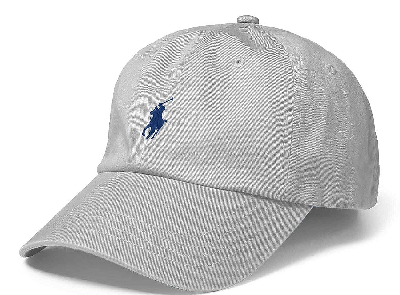 Polo Ralph Lauren - Gorra de béisbol - Gris: Amazon.es: Ropa y ...