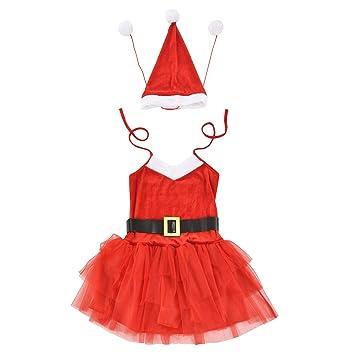 en.casa]® Traje de Papá Noel para Mujeres 64 x 50 cm (36-42 ...