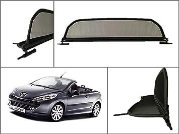 Deflector aire Deflectores de viento Peugeot 207 cc Cabrio 207cc Cabrio WIND BLOCKER NUEVO: Amazon.es: Coche y moto
