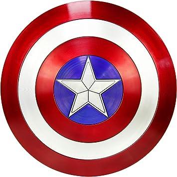 DMAR Escudo del Capitán América, Escudo De ABS Plástico de 57 cm ...