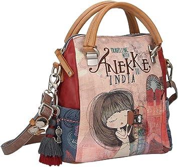 Bolso Doble Asa India Anekke: Amazon.es: Equipaje