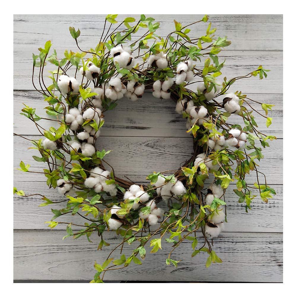 Cotton Wreath - 22