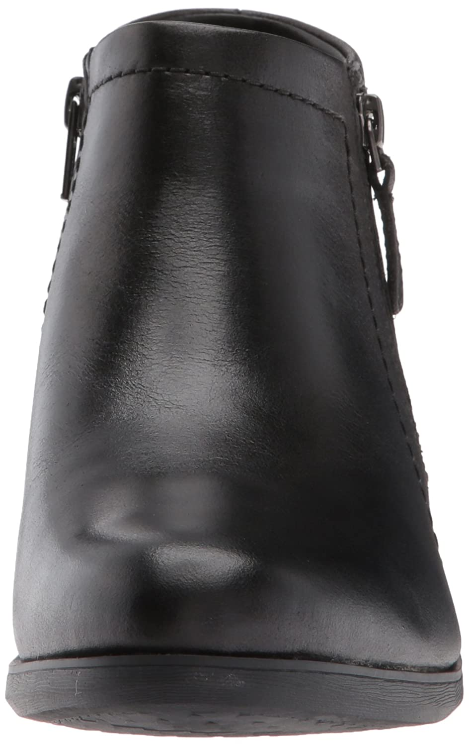 Cobb Hill Women's Oliana Panel Ankle Boot B06WCZ5NBW 9 W US|Black Pull Up Lthr