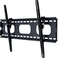 "37-60"" inch Slim Tilt LED LCD Plasma TV Bracket Wall Mount 80kg Black Selby"