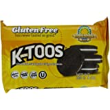 KinniToos Chocolate Sandwich Creme, Gluten Free, 8-Ounce Packages (Pack of 3)