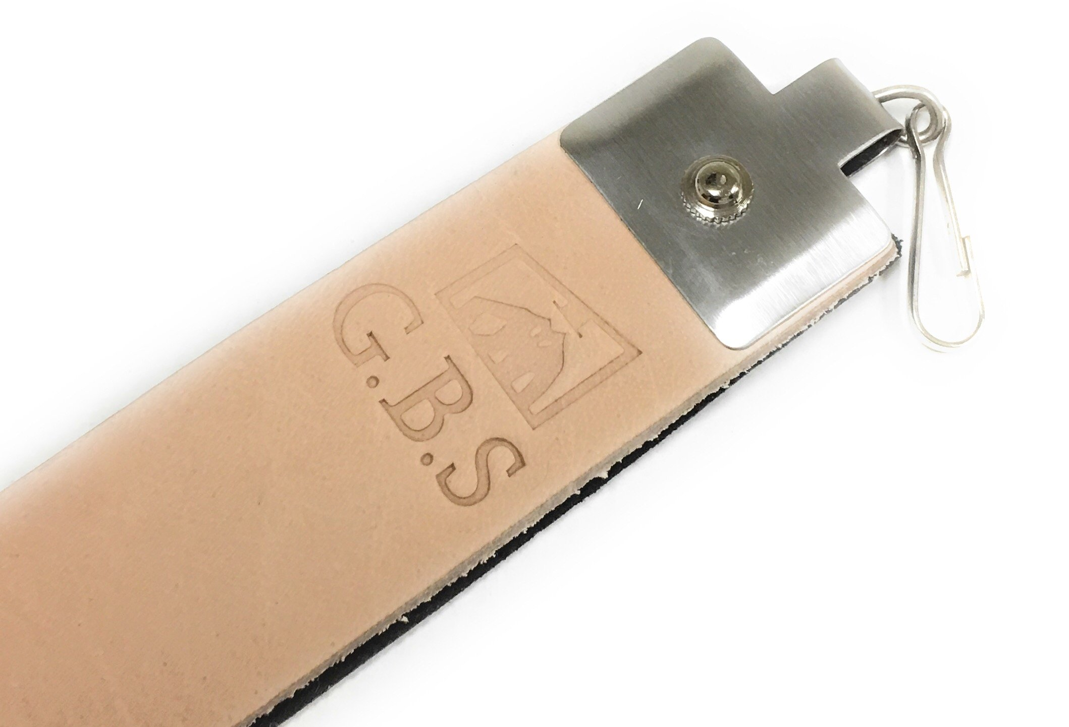 Hanging Leather Razor Strop Knives Scissors Tools 10 Oz Top Grain Cowhide (1)