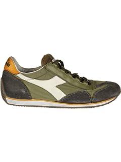 Diadora Heritage, Uomo, Equipe S SW Blu Grigio, Suede, Sneakers, Blu, 40.5 EU