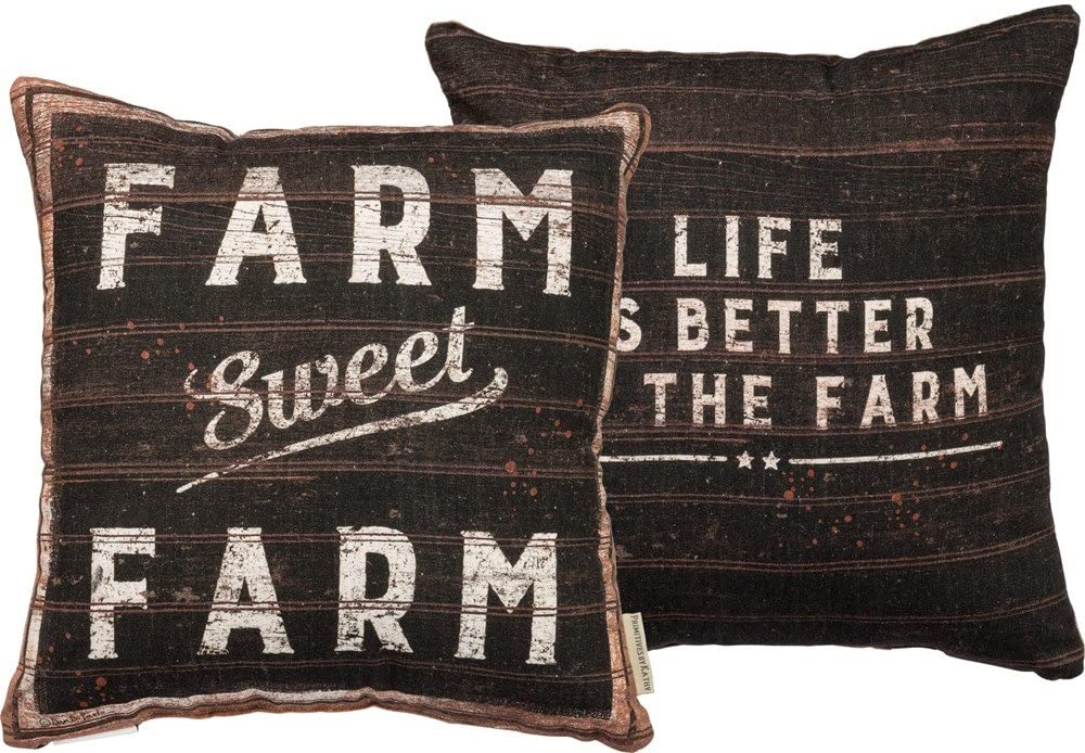 Primitives by Kathy Stand Up Farm Life is Best Home Decor