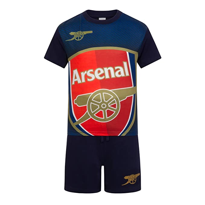 finest selection 0a211 4a801 Arsenal Football Club Official Soccer Gift Boys Kids Kit Pajamas Red White