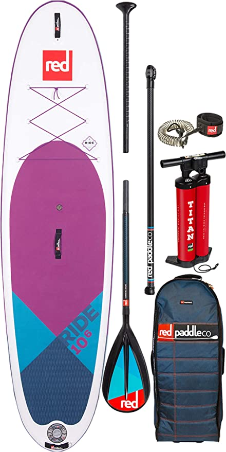 Red Paddle Co - Sup Stand Up Paddle Boarding - Ride SE Purple MSL ...